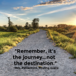 How Values and Rightsizing Are Clues to Enjoying The Journey Instead of The Destination