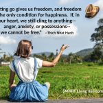 Does The Freedom That Comes From Letting Go Lead To Happiness?