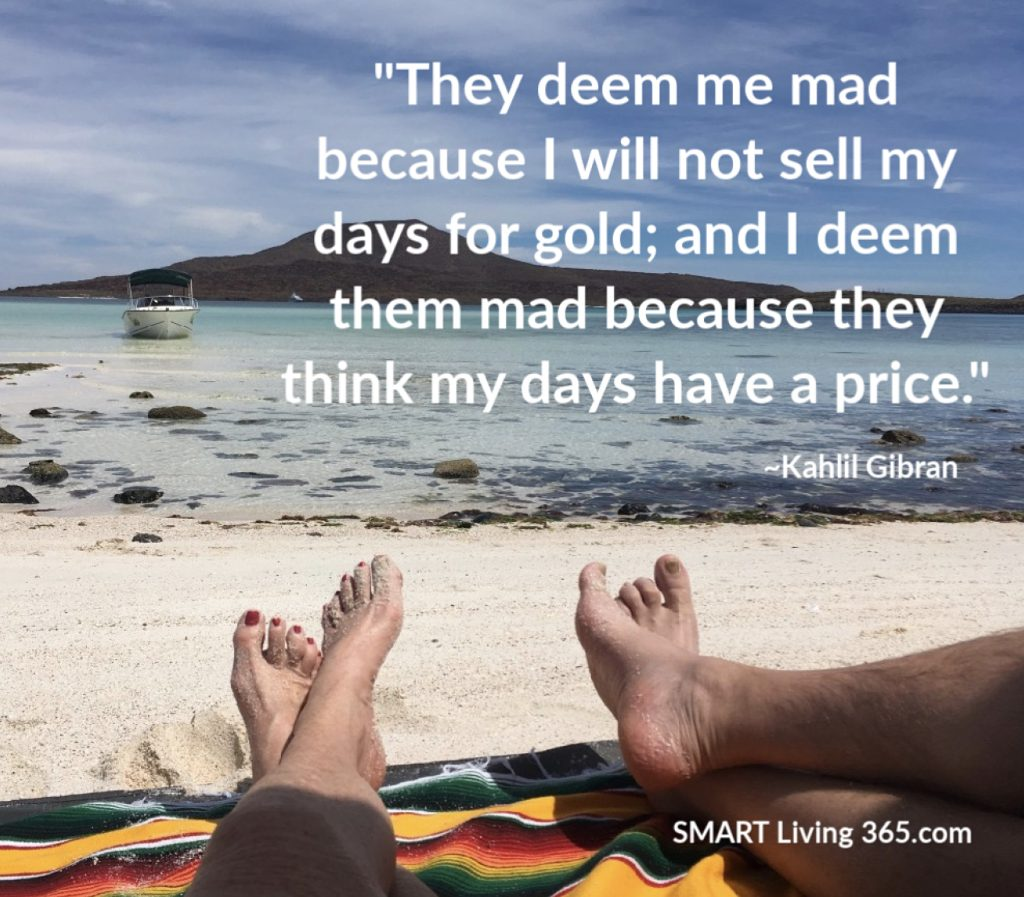 What Is The Price Of Your Days?