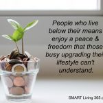 10 SMART Ways To Live Below Your Means