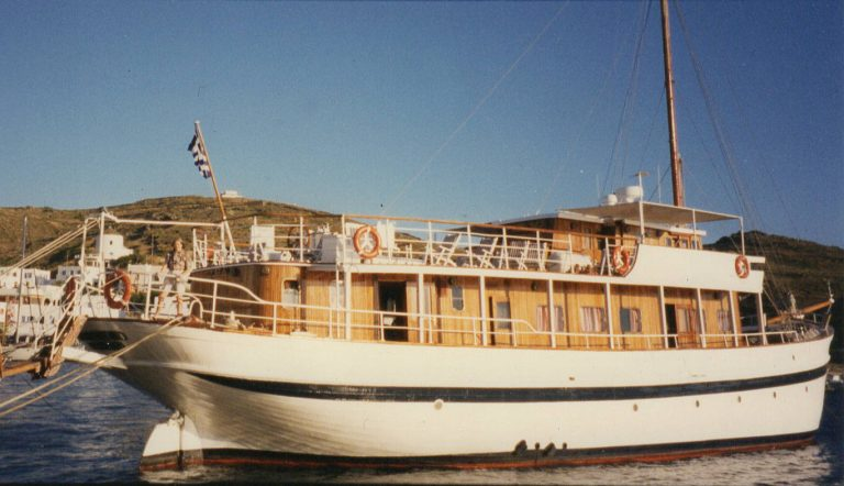 Our home while cruising the Greek Islands