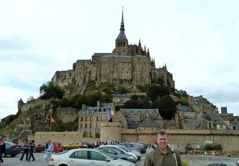 """Staying two nights on the """"island"""" of Mont St. Michelle, France"""
