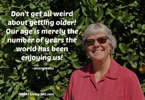 What's Wrong With Looking Older When You Are Older?
